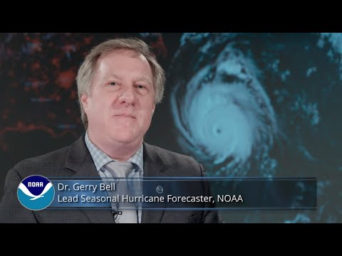 Dr. Gerry Bell, lead seasonal hurricane forecaster at NOAA's Climate Prediction Center, and the rest of his team NOAA, are predicting a 40 percent chance that the 2019 Atlantic hurricane season will be near-normal.