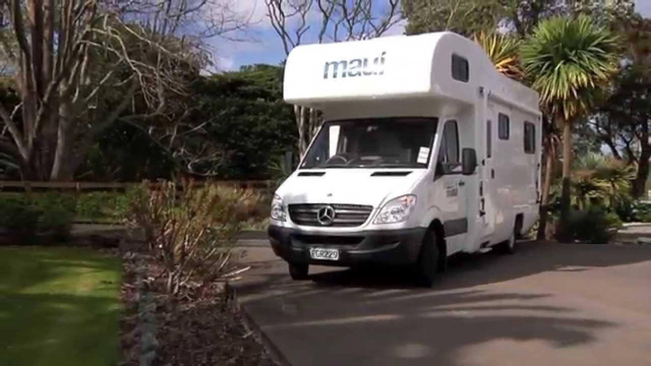 354a4552a4 Maui River - 6 Berth Campervan New Zealand - YouTube