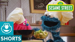 Sesame Street: Stir Fry with Brussel Sprouts | Cookie Monster's Foodie Truck