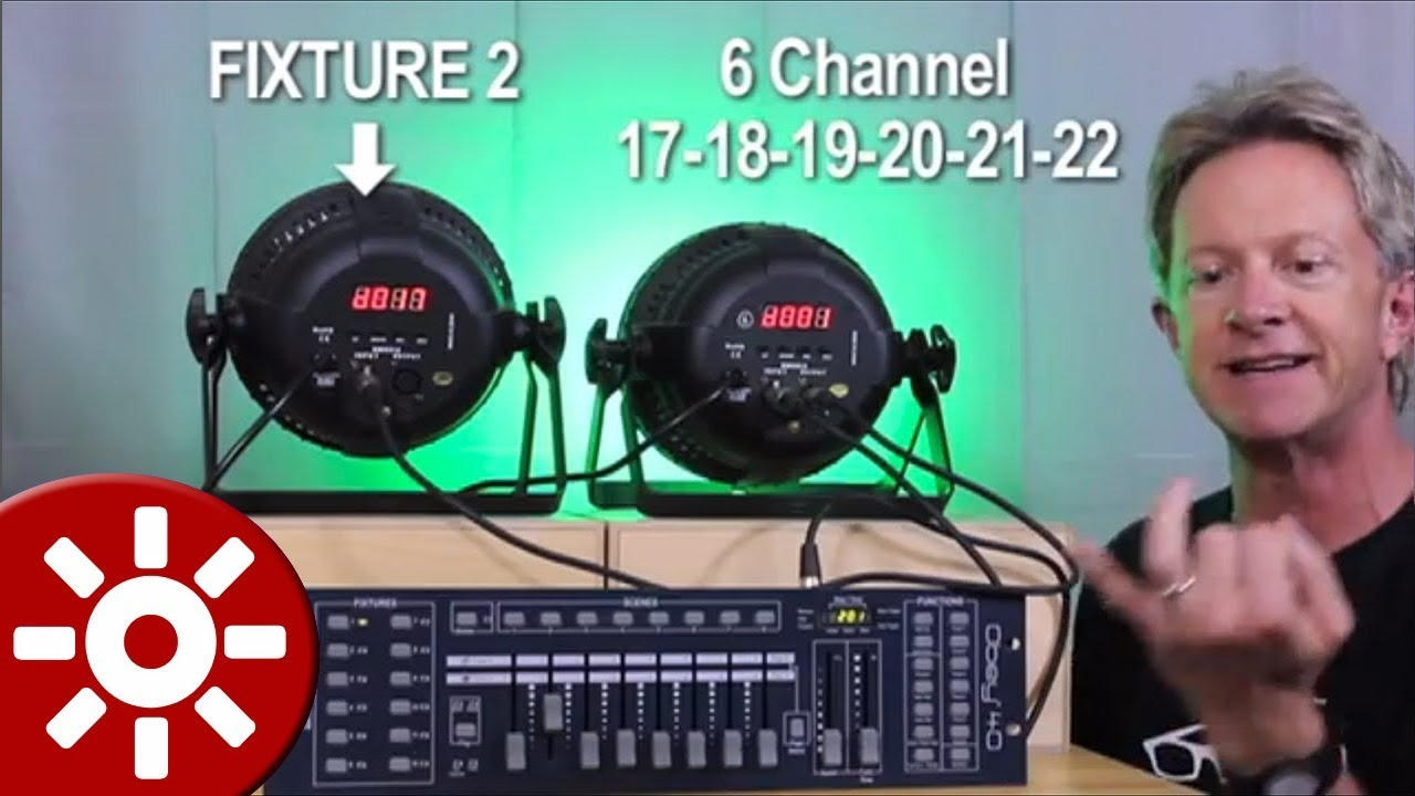 How To Program Dmx Lights For Beginners Simple Lesson