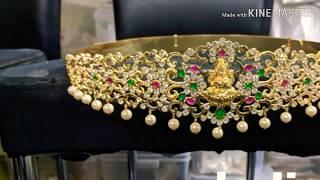 Latest bridal vaddanam/Hip belt for wedding