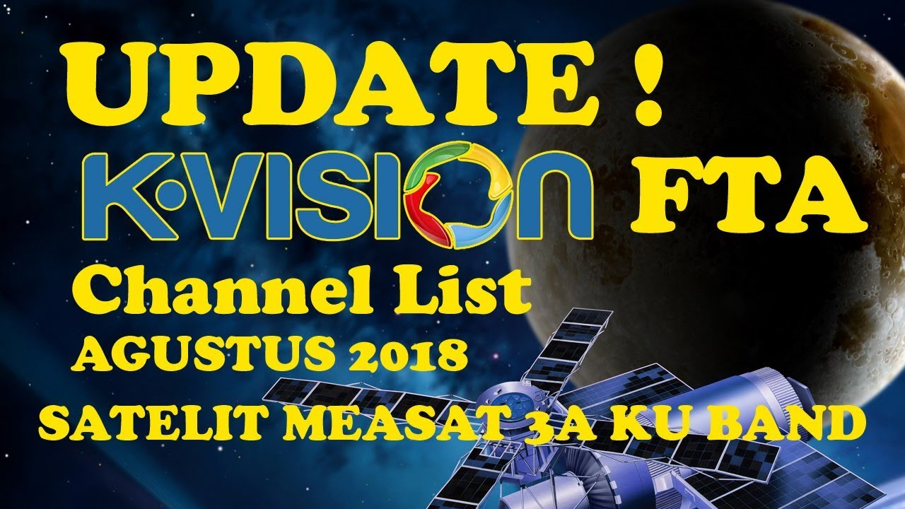 Measat 3 ku band fta channels 2017