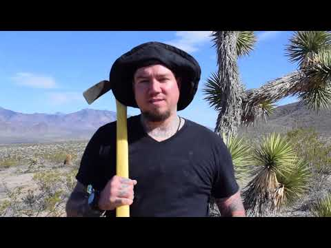 GOLD PROSPECTING AND METAL DETECTING IN THE ARIZONA DESERT