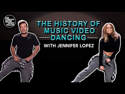 History Of Music Video Dancing (w/ Jennifer Lopez & Jimmy Fallon)
