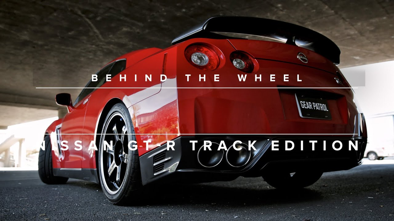 Behind The Wheel 2014 Nissan GT R Track Edition