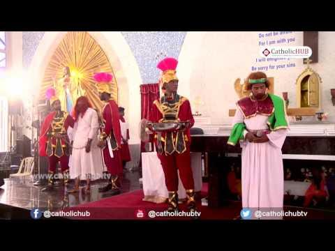 Way of Cross (Rev.Fr. Xavier Irudayaraj) @ Divine Mercy Church, Annanagar, Chennai, 14-04-17
