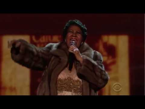 "Aretha Franklin ""You Make Me Feel Like A Natural Woman"" Kennedy Center Honors 2015"