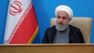 Iranian president lashes out at Trump