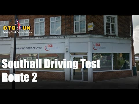 Southall Driving Test Route 2  | DTC-UK | Driving Test UK