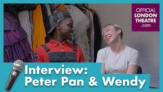Interview with Peter Pan and Wendy