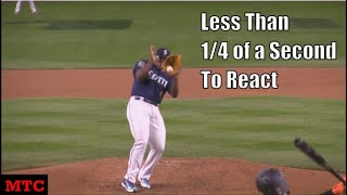 Forty Minutes of MLB Players Showing Off Their Reflexes