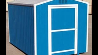 How To Build A Cheap Outdoor Gable Roof Wooden Garden Storage Shed From My Plans Video