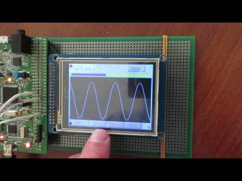 Осциллограф + генератор на STM32