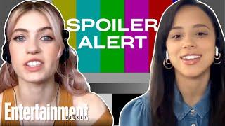 Kiana Madeira & Olivia Scott Welch Discuss 'Fear Street' Movies | Entertainment Weekly