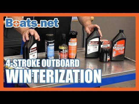 How to Winterize an Outboard Motor | Winterizing a 4 Stroke Outboard Motor | Boats.net
