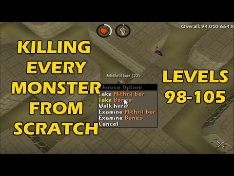We're Into The LEVEL 100's NOW! | Every Monster From Scratch #14