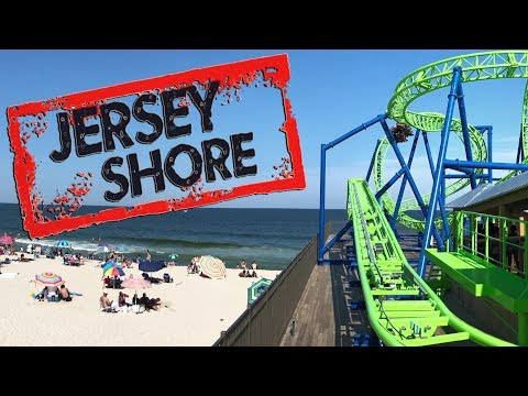 The Rides & Roller Coasters of the Jersey Shore with Hyde