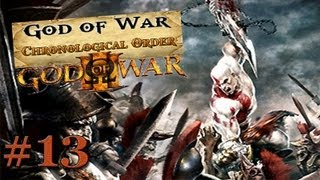God of War Chronological Order: God of War 3 [Playthrough/Walkthrough] Part 13