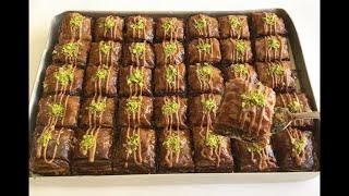 Veee Beklenen Çikolatalı Baklava Tarifi Baklava İle İlgili Tümmm Püf Noktalarıyla Beraber 👉🏻BERA