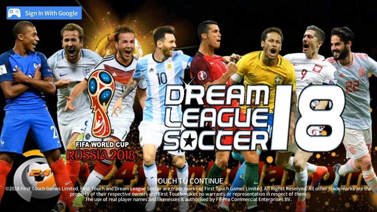 Dream League Soccer Russia World Cup 2018 Edition Youtube