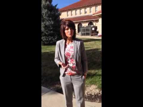Congresswoman Noem in Hot Springs South Dakota