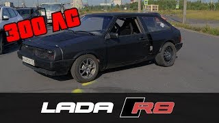 LADA 2108 with v8 300 HP