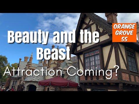 Beauty And The Beast Dark Ride Coming To Disneyland? thumbnail