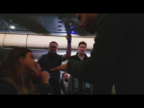 AA Flight #770 - SFO To PHL - Obnoxious Passenger