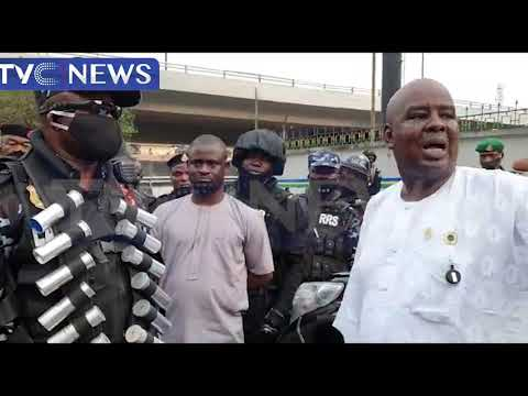#OccupyLekki: RRS Holds Show Of Force Across Lagos