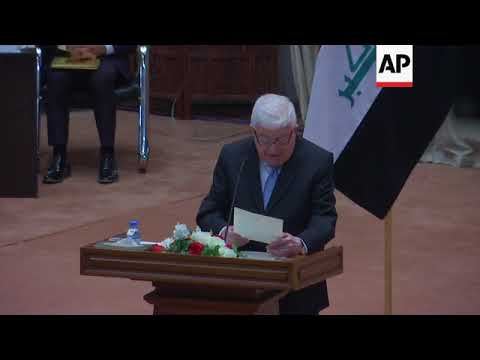 Iraq's new parliament meets as rival factions compete for right to name new govt