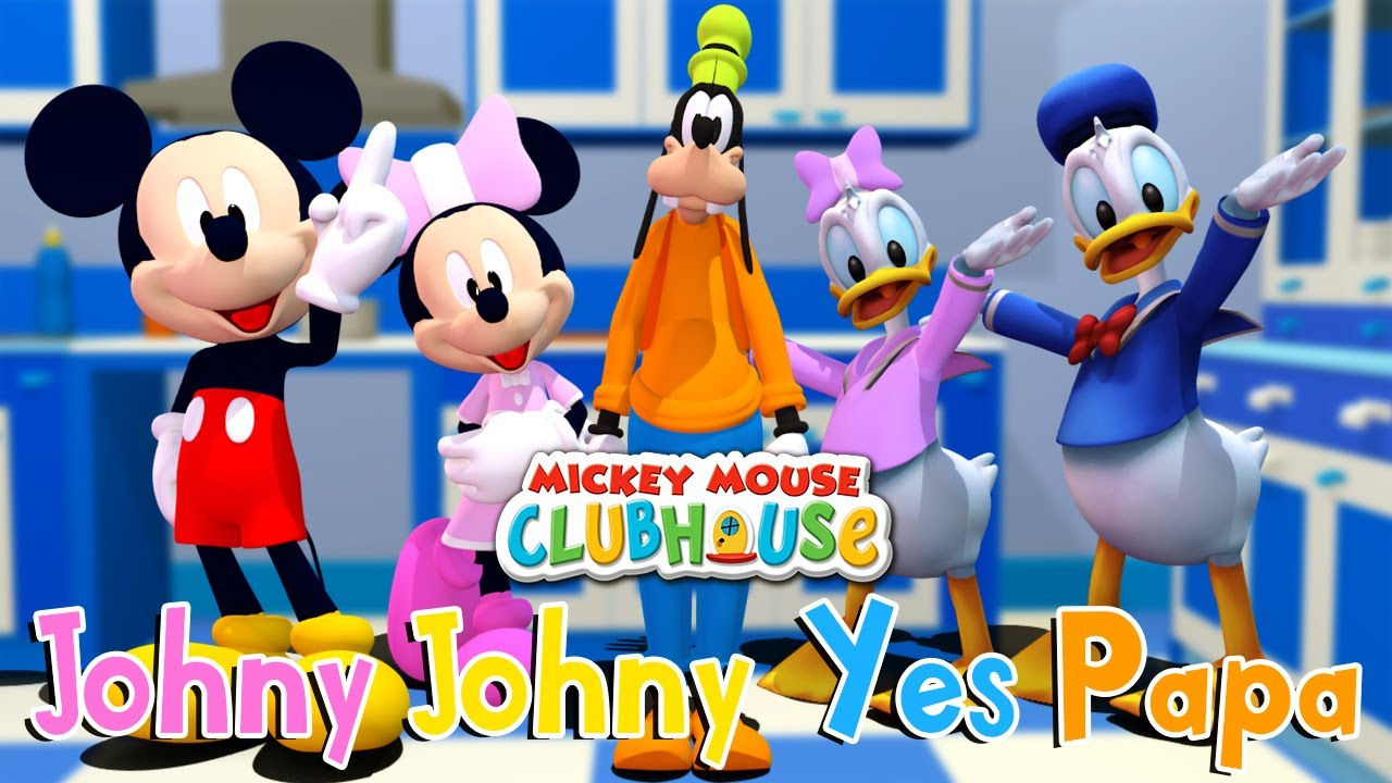 Johny Johny Yes Papa Mickey Mouse Clubhouse | Binggo Channel