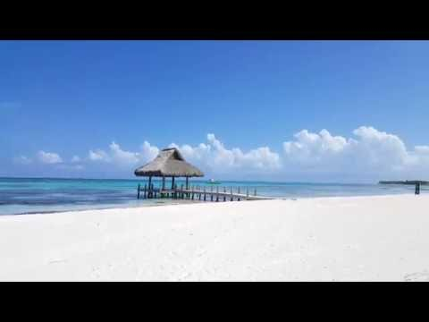 White Sand Clear Blue Water at Punta Cana Beach Dominican Republic - Westin Resort & Club