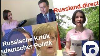 Russische Kritik der aktuellen deutschen Politik