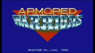 Armored Warriors Arcade Game Track - 18 Starry Ocean Stage 7