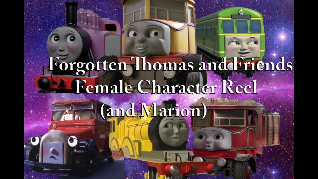 Unheard Forgotten Thomas And Friends Female Characters Marion Voice Reel
