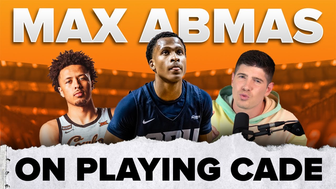 Max Abmas on playing Cade Cunningham 🏀 | #shorts