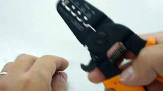 圧着ペンチ(シングル圧着)の動画。品番:PA-21 thumbnail