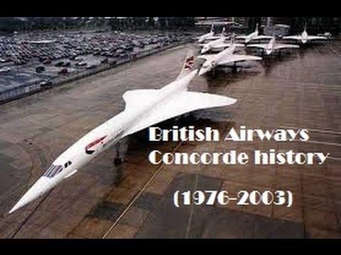 Fleet History - British Airways BAC/Aérospatiale Concorde (1976-2003)