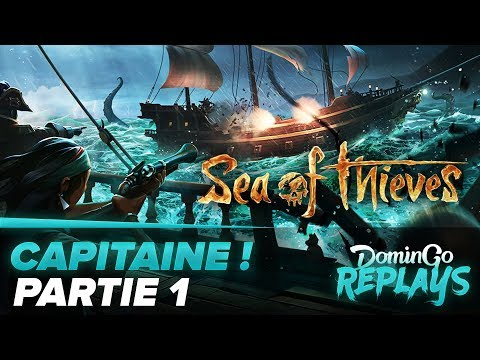 Capitaine ! -   (Sea of Thieves avec ZeratoR) Partie 1