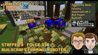 Let´s Play Buildcraft [HD+] S03E038 - Buildcraft Roboter - Bauanleitung1