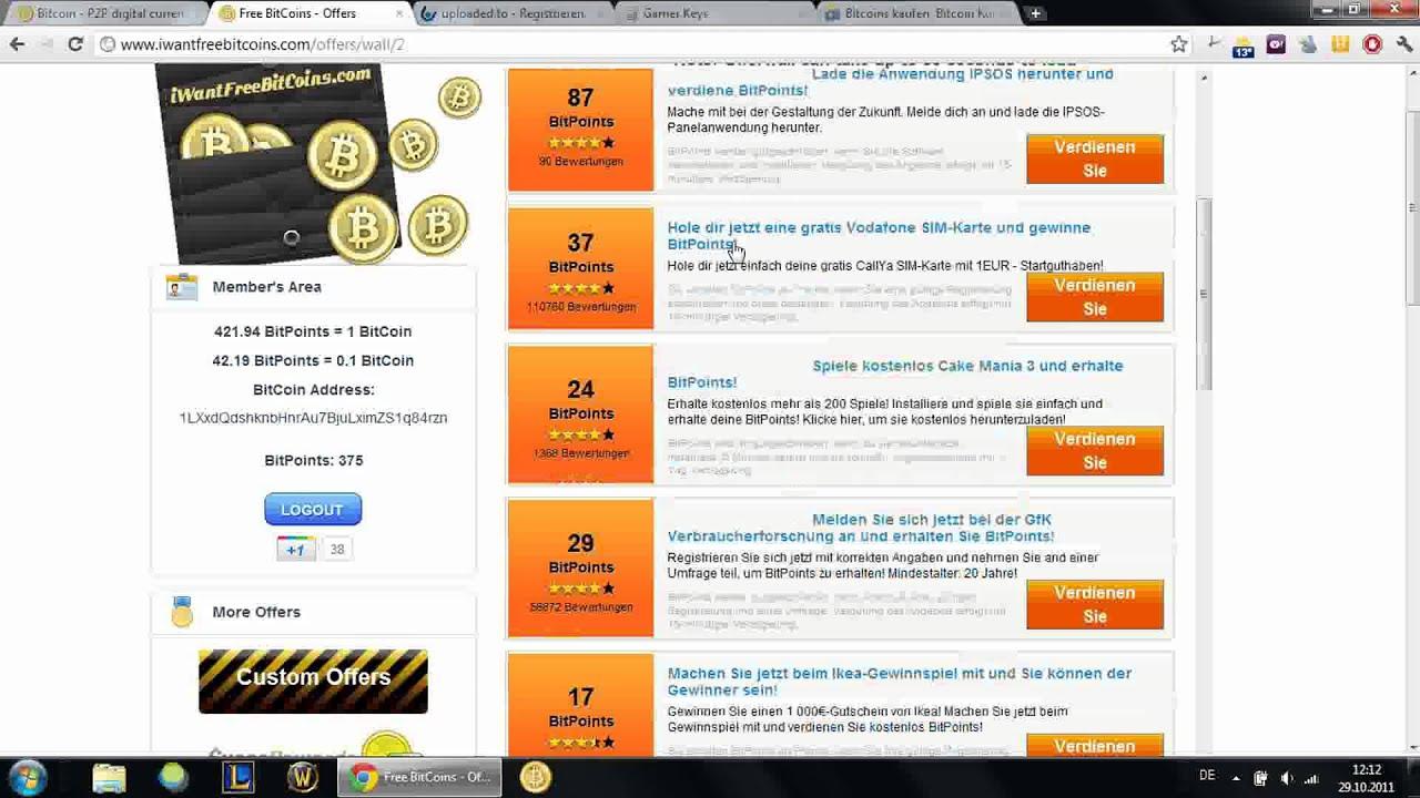 Bitcoin schnell online kaufen