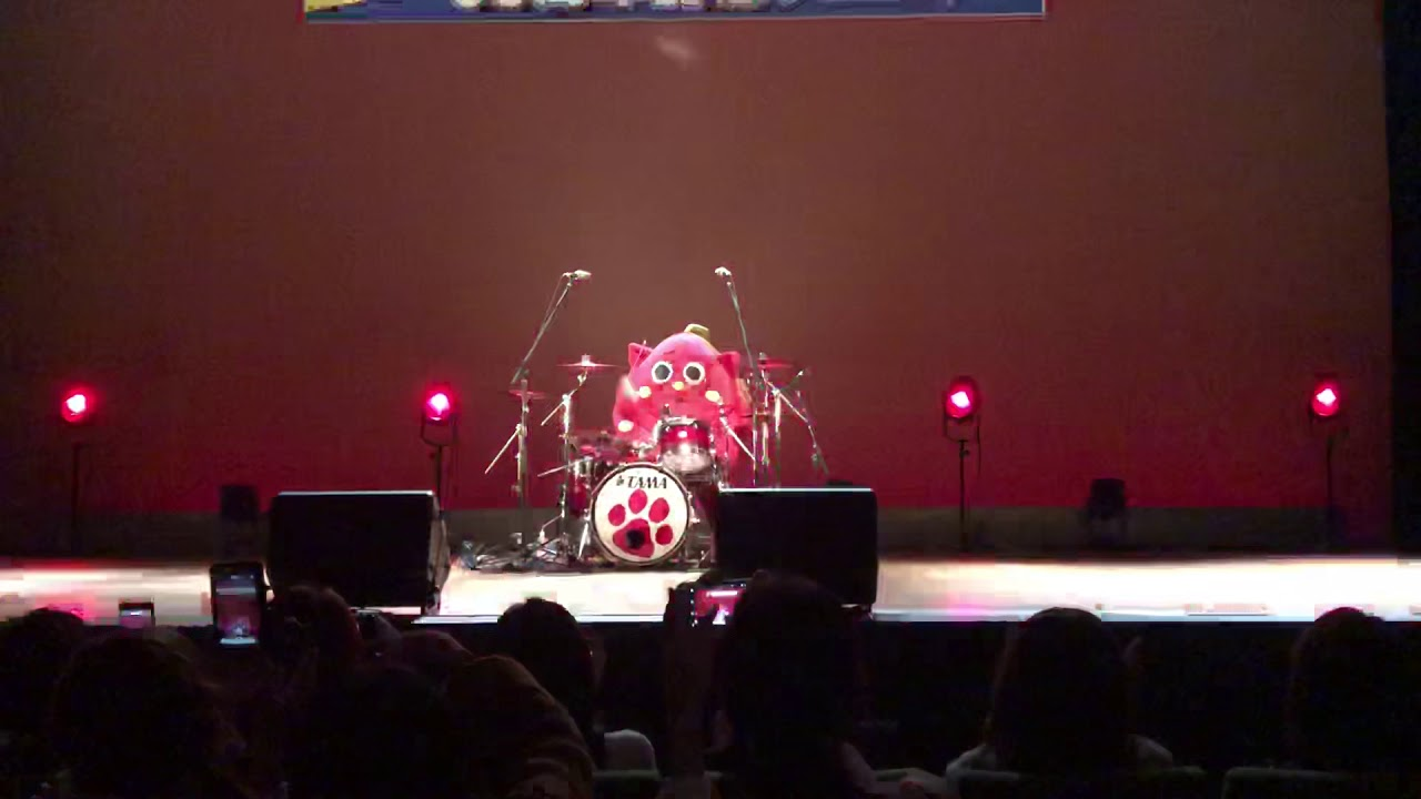 Download Japanese cat mascot Nyango Star drums to Slayer