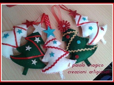 Creazioni natalizie e tutorial albero di natale cucito for Cucito creativo youtube