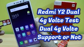 Redmi Y2 Dual 4g Volte test Support Or Not (Hindi)