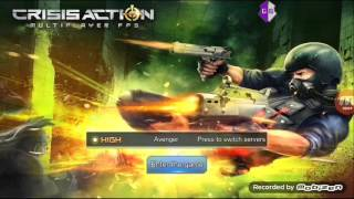 CHEAT CRISIS ACTION ANTI HACK DETECTED + 1 HIT