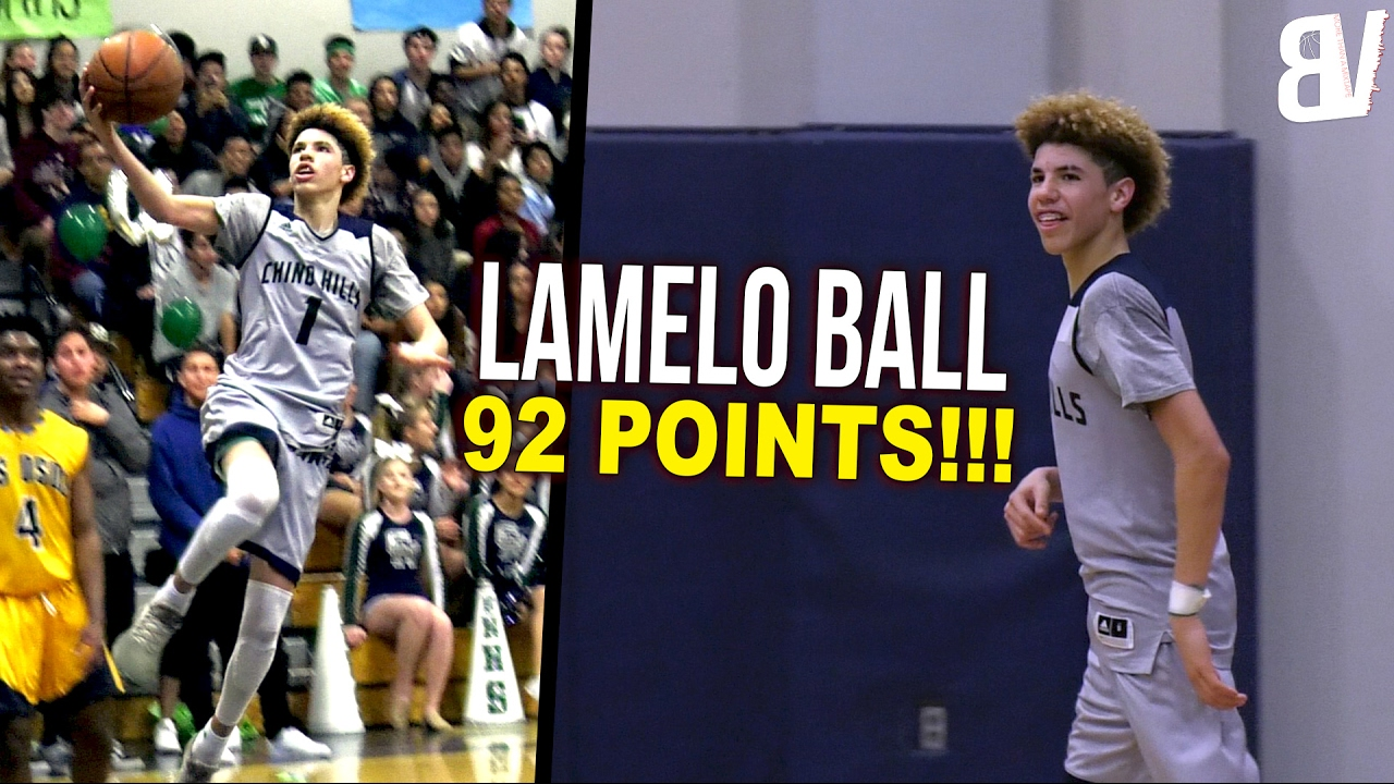 LaMelo Ball 92 POINT GAME FULL HIGHLIGHTS! 41 IN THE 4T ...