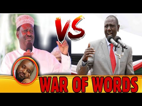 WAR OF WORDS🔥WHY RUTO AND RAILA are STIL EXCHANGING WAR OF WORDS Even after the HANDSHAKE