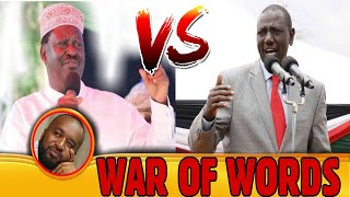 🔥WAR OF WORDS🔥WHY  RUTO AND RAILA are  STIL EXCHANGING WAR OF WORDS Even after the HANDSHAKE