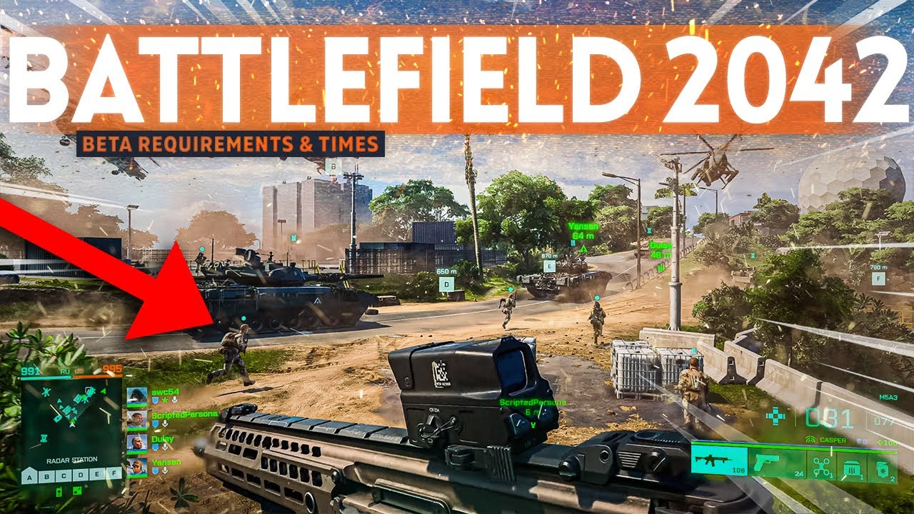 Battlefield 2042 Beta: All Release Dates, Launch Times, and How to ...