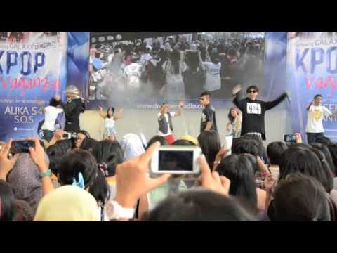 [Fancam] BIG Bang - How Gee (Covered by 3GB) - @ Kpop Vaganza